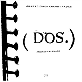 Grabaciones Encontradas Vol. II
