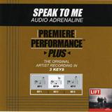 Premiere Performance - Plus Speak to Me (EP)