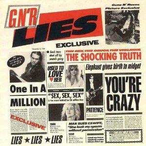 letras de canciones de los guns roses: