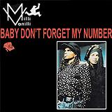 Baby Don't Forget My Number [US Promo CD Maxi]